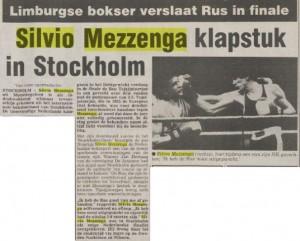 silvio Mezzenga 13-01-1987