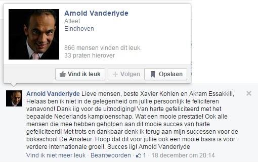 arnold facebook juist
